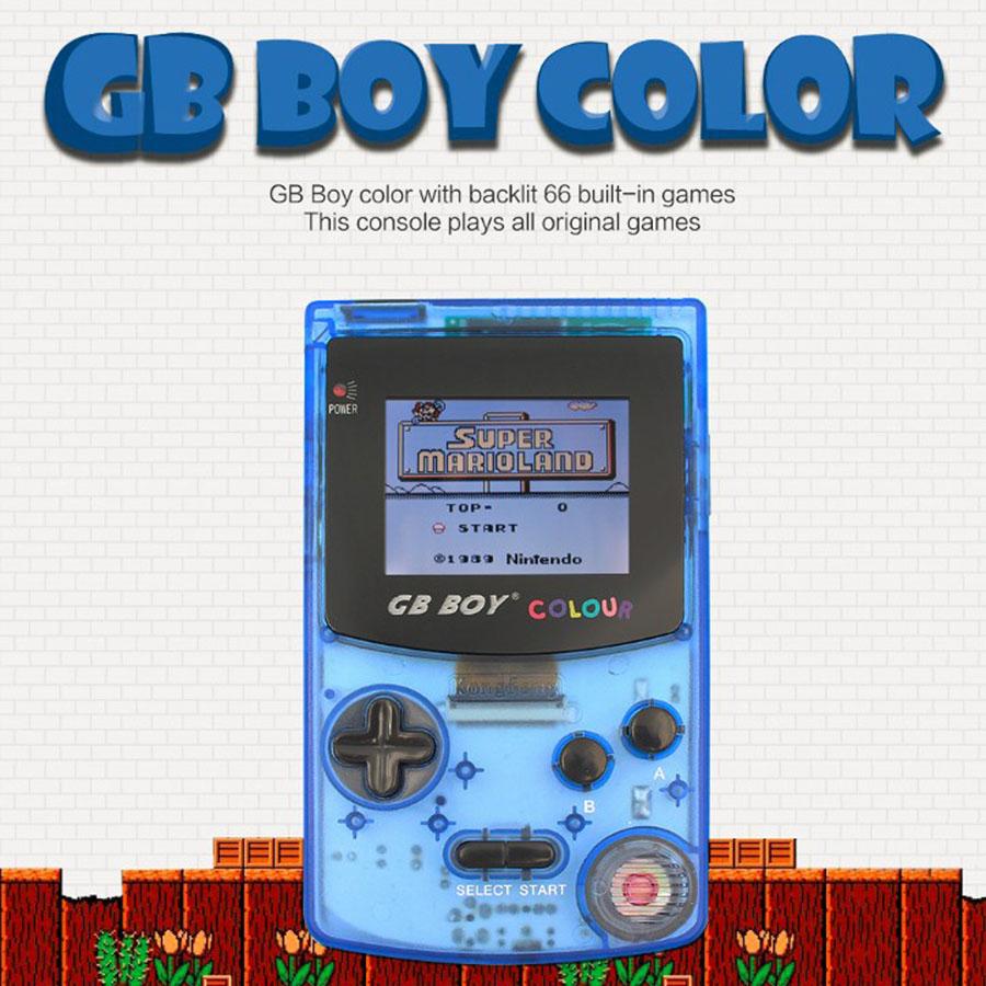 2019 새로운 gb 보이 컬러 컬러 휴대용 게임 플레이어 2.7