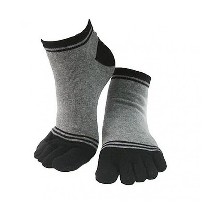 제이제이마트 남자 발가락양말 단목 M08-02 연그레이 1켤레 남성 발가락 향균 양말