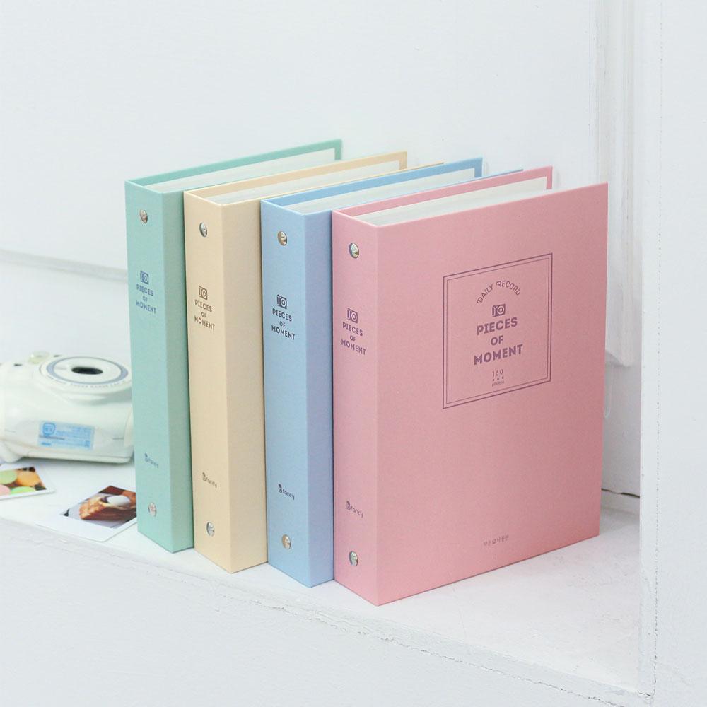 비팬시 작은사진관 폴라로이드 포켓 앨범, 핑크, 40매