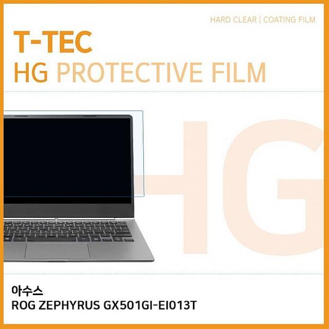 윤성커뮤니케이션 T 아수스 ROG ZEPHYRUS GX501GI-EI013T 고광택 액정보호필름 노트북 보호필름, 1
