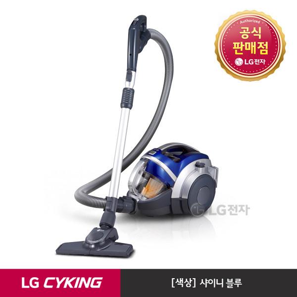 [LG전자] &[택배발송] 슈퍼 싸이킹 III 주니어 청소기 K73BGY (샤이니블루/트윈, 상세 설명 참조