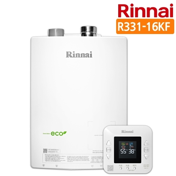 린나이 [3大특전제공] 스마트 가스보일러 R331-16KF, LPG(프로판통가스)