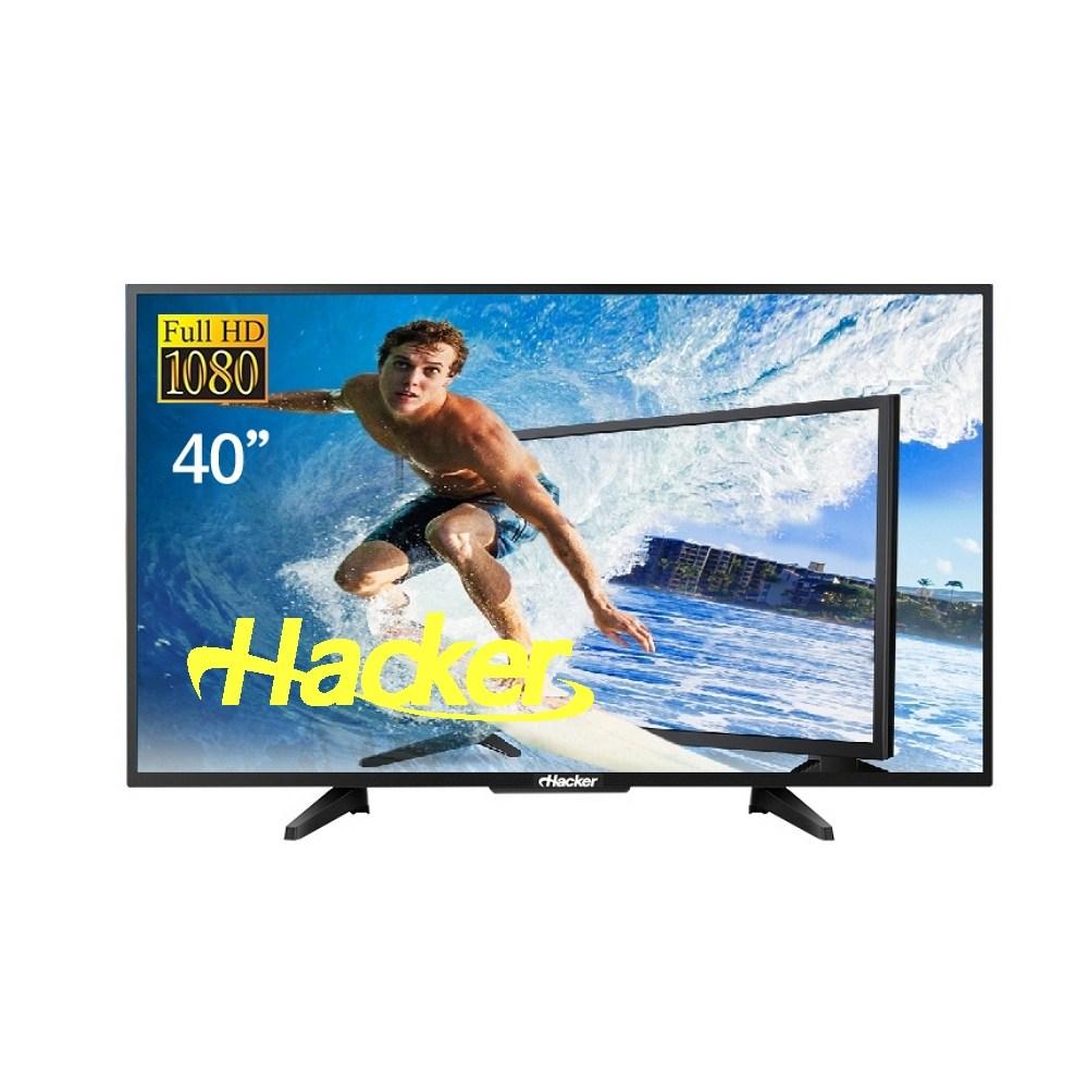 해커 FHD TV 40인치 본사직배송 및 설치옵션, DH4000 스탠드설치 (전문기사방문)
