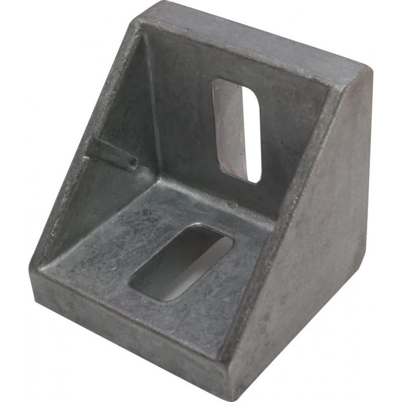 10x 앵글 알루미늄 앵글 45 42 x 42 x 42 mm M8 너트 10 알루미늄