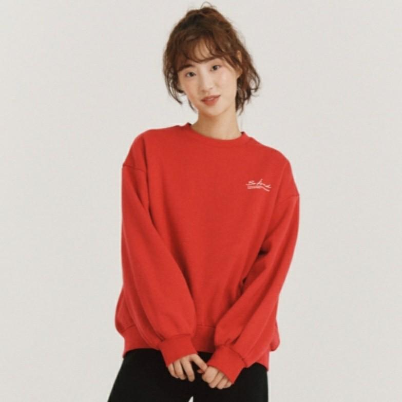 폴햄 초대박!!! 벌룬 소매 여성용 기모 맨투맨 티셔츠~~~