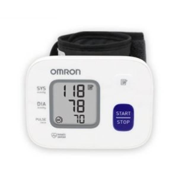 오므론 자동전자 혈압계 HEM-6161 손목형혈압계 혈압측정기, 1개