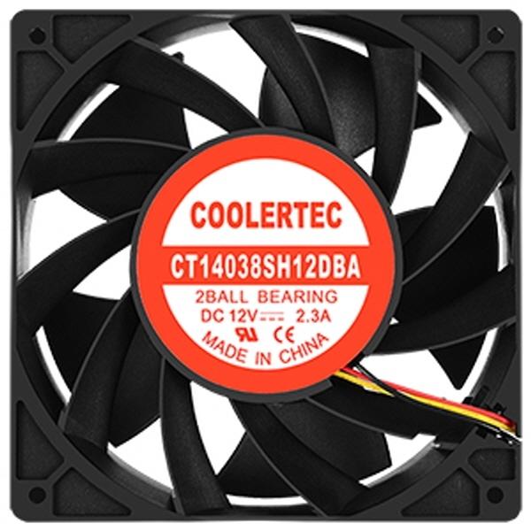 쿨러텍 CT-14038SH12DBA-3P 140mm 초고풍량 쿨러, 단일상품