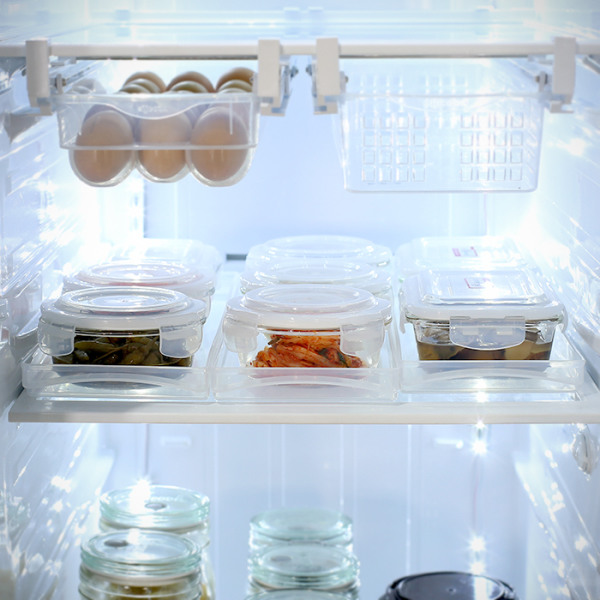 [실리쿡] 냉장고수납 슬라이딩트레이 3개, 상세 설명 참조, 상세 설명 참조