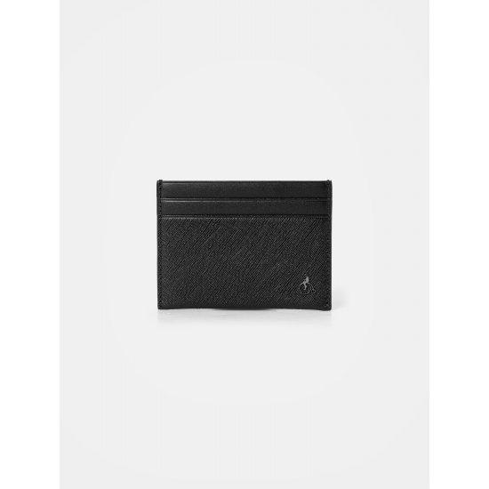 빈폴ACC 웨이즈빈 낱장 카드 지갑 - Black (BE06A3T485)