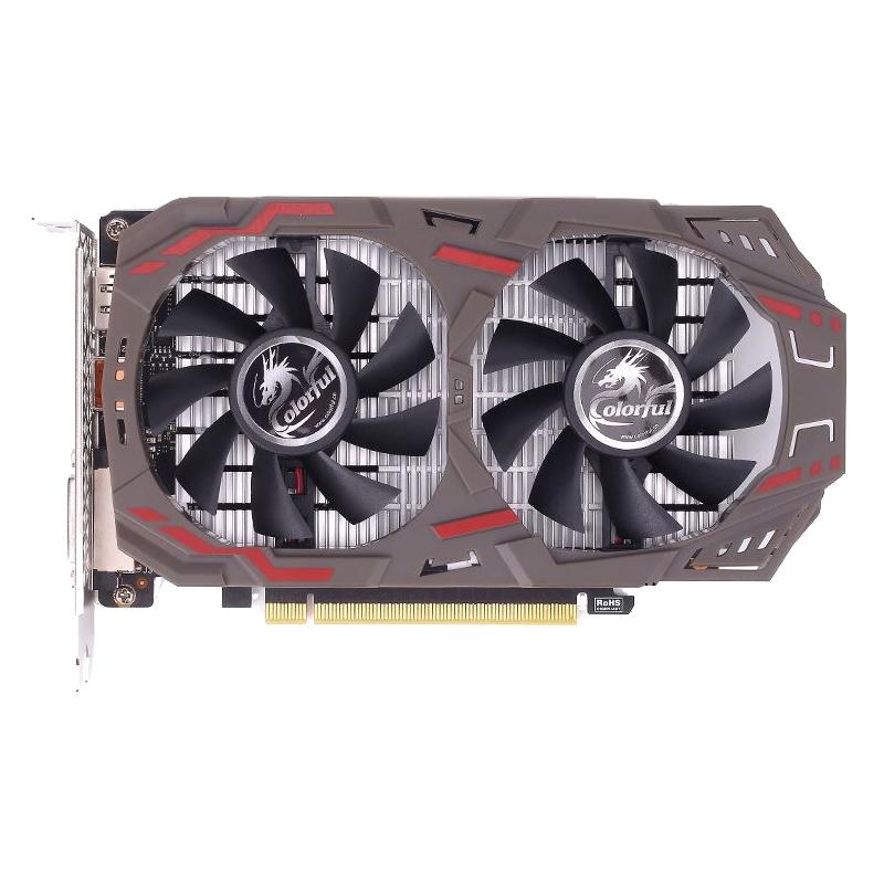 다채로운 GTX1050TI 4G 2G 1060 3G 5G 6G 1070 8G 혼자 디스플레이 컴퓨터 먹는 치킨 그래픽 카드, 2GB