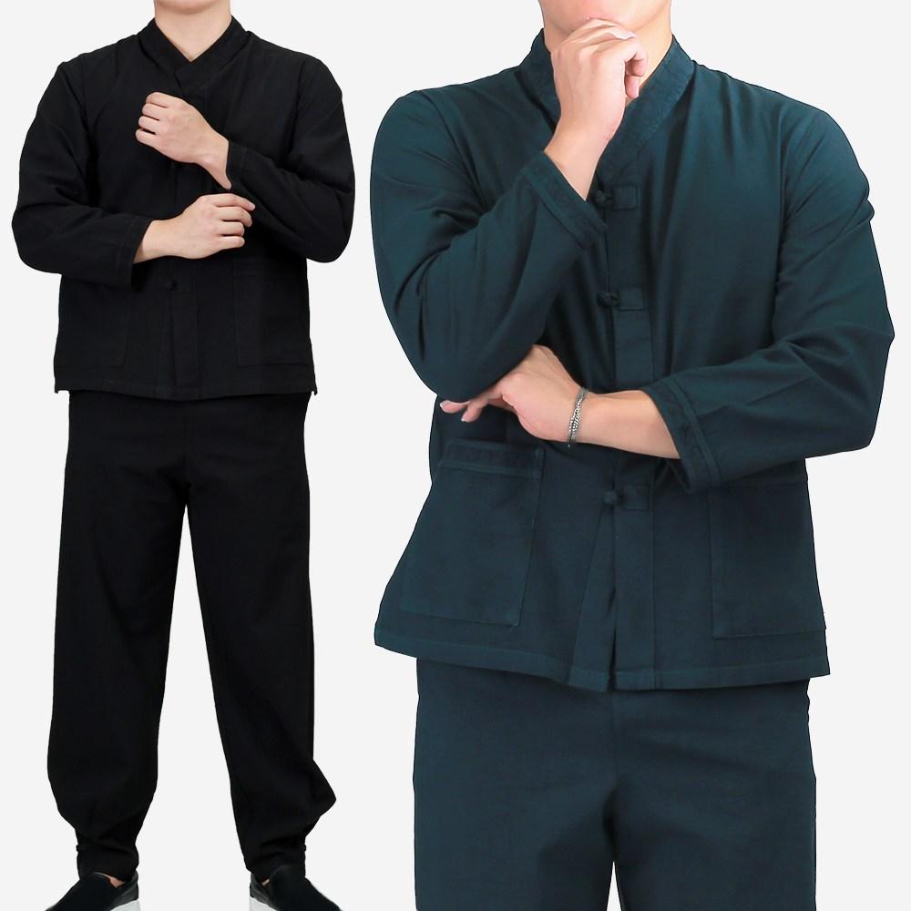 매듭우리옷 MC218_공용 선염 BTS정국 공항패션 개량한복 생활한복 생활한복(개량한복)