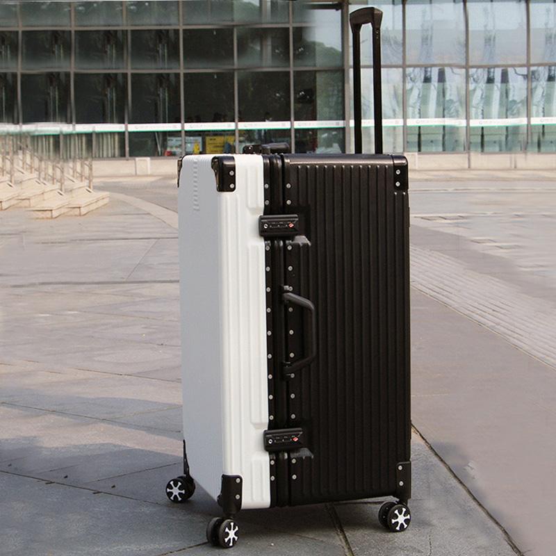 수화물용여행가방 수화물여행가방 남자 60 인치 대용량 오버사이즈 32 비밀번호 가죽 상자 50 특대사이즈 점보 40