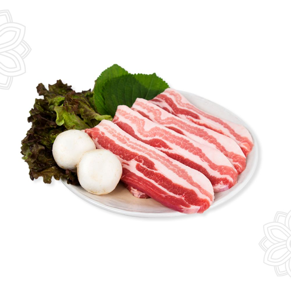돼지고기 구이용 삼겹살 목살 특수부위 600g 내외, 한돈 구이용 생대패 600g