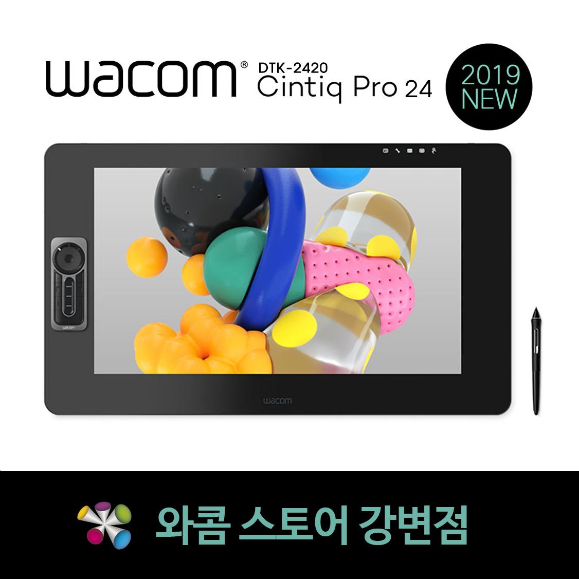 와콤 WACOM 신티크 프로 24 DTK-2420 타블렛, 일반 DTK-2420