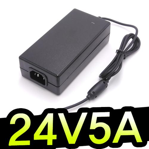 명호전자 24V3.5A 24V5A 노트북 아답터 어댑터, 24V 5A 기본규격