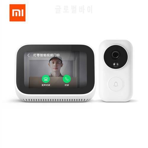 원래 Xiaomi AI 페이스 터치 스크린 블루투스 5.0 스피커 디지털 디스플레, 상세내용참조