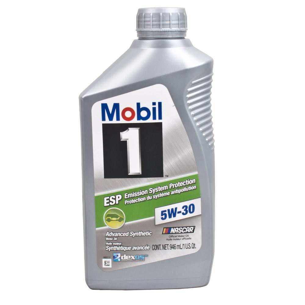 모빌원 엔진오일 Mobil1 ESP 5W30 겸용, 1개