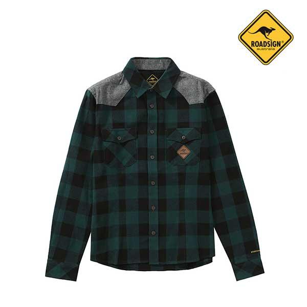 로드사인 [로드사인] P 유니 체크포켓 셔츠-RDSX702A_GE