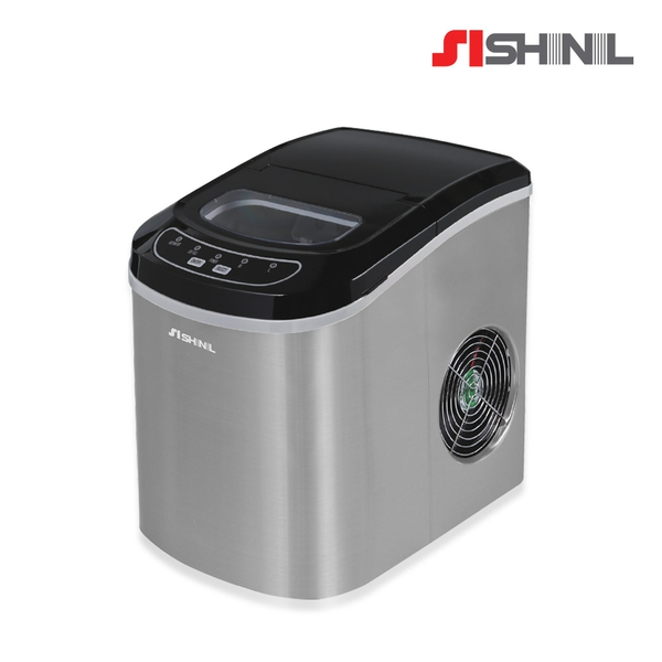 신일 가정용 자동제빙기 12kg 실버 간편사용 SIM-S220SJ (POP 5158045772)