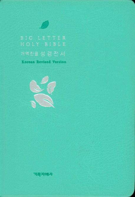 읽기 편한 큰글자 성경전서(민트)(신46)(소)(단본)(개역한글), 기독지혜사