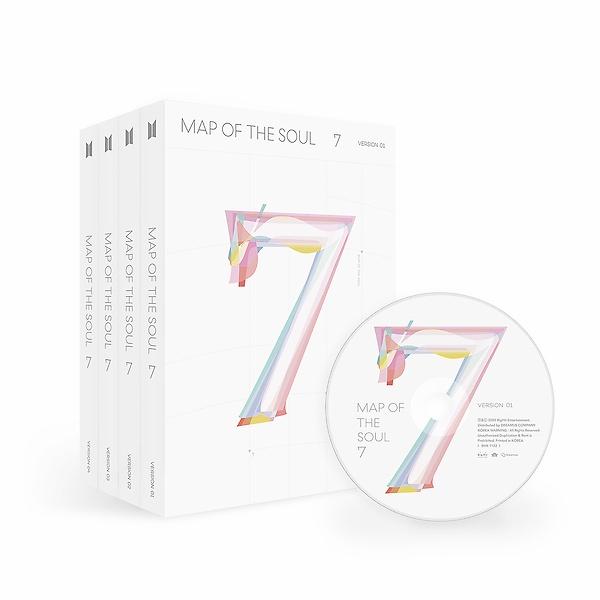 방탄소년단(BTS) - MAP OF THE SOUL : 7 [Ver 1 Ver 2 Ver 3 Ver 4 랜덤출고]