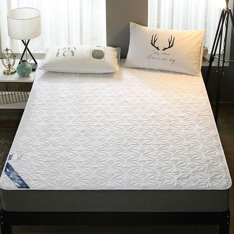 토퍼 템퍼 매트리스 침구 기타 면실 사계절 공용 침구, 하얀_1.2m (4 피트)