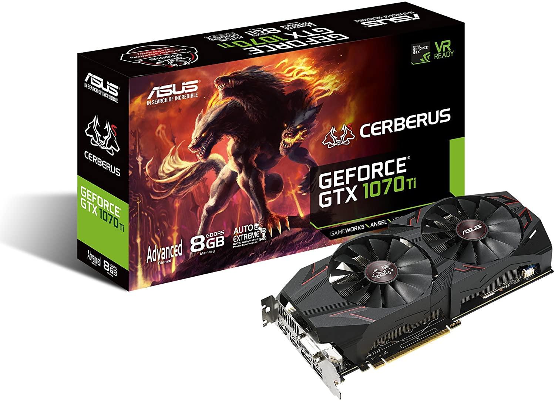 3.예상수령일 2-6일 이내 ASUSTek ASUS ROG Strix GeForce GTX 1070 Ti 8GB GDDR5 고급 버전 VR 레이디 DP, 상세 설명 참조0