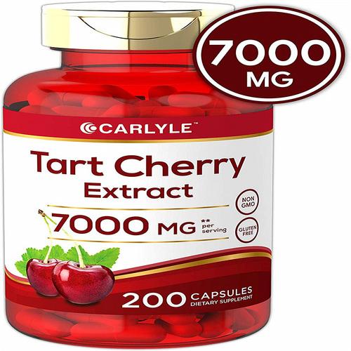 칼라일 타트체리 Carlyle Tart Cherry 7000mg 200캡슐, 1병