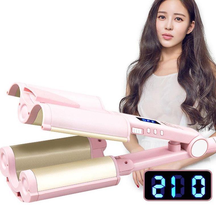 무료배송 물결고데기 봉 매직기 고데기 공QS2305, 핑크, 32mm