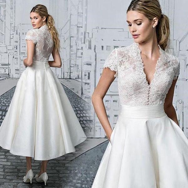 천사 엔젤 결혼 여행 신혼 세미 야외 드레스 짧은 웨딩 드레스 셀프 스몰 579