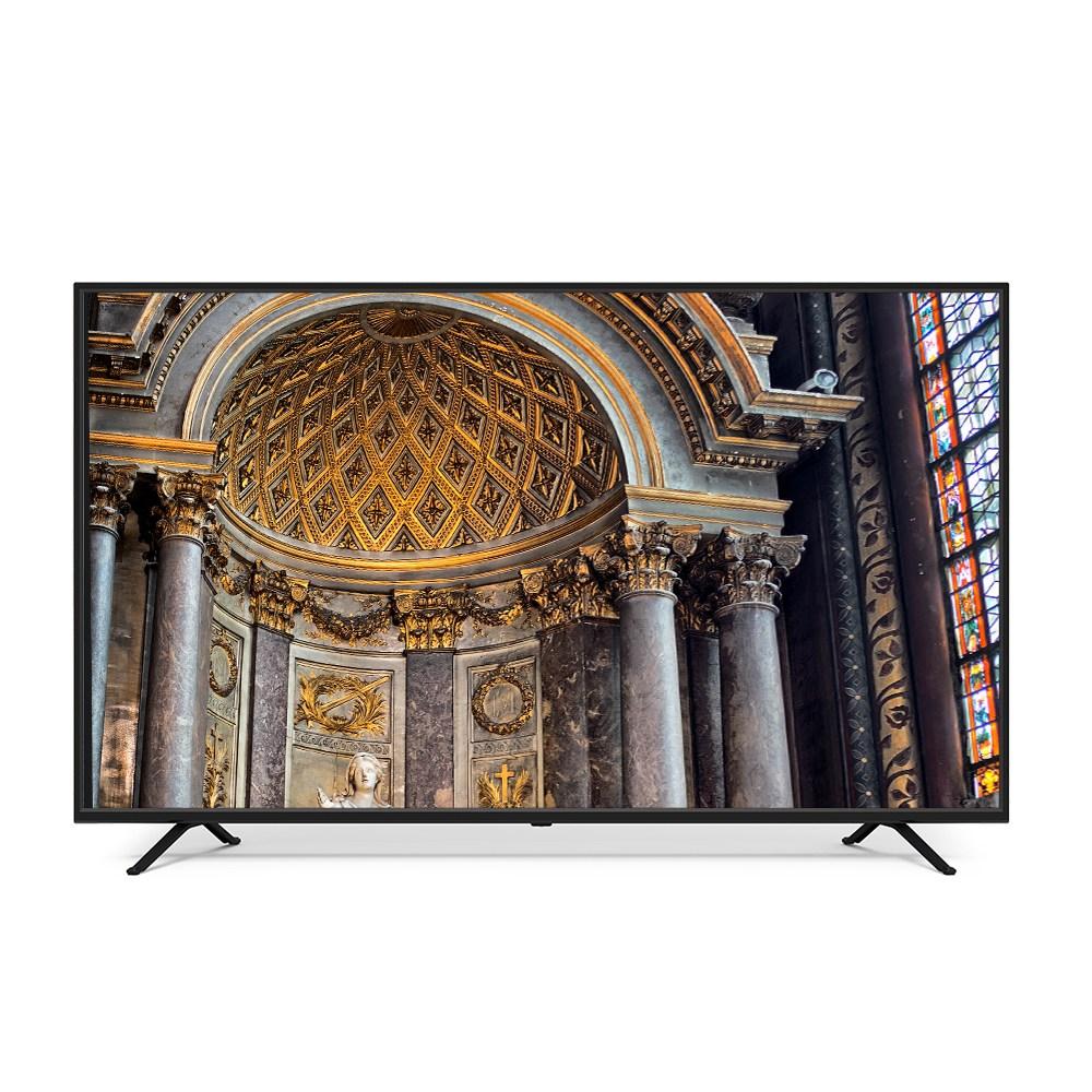 유맥스 UHD 165cm LG패널 4K TV UHD65L, 스탠드형, 방문설치-4-5768984197