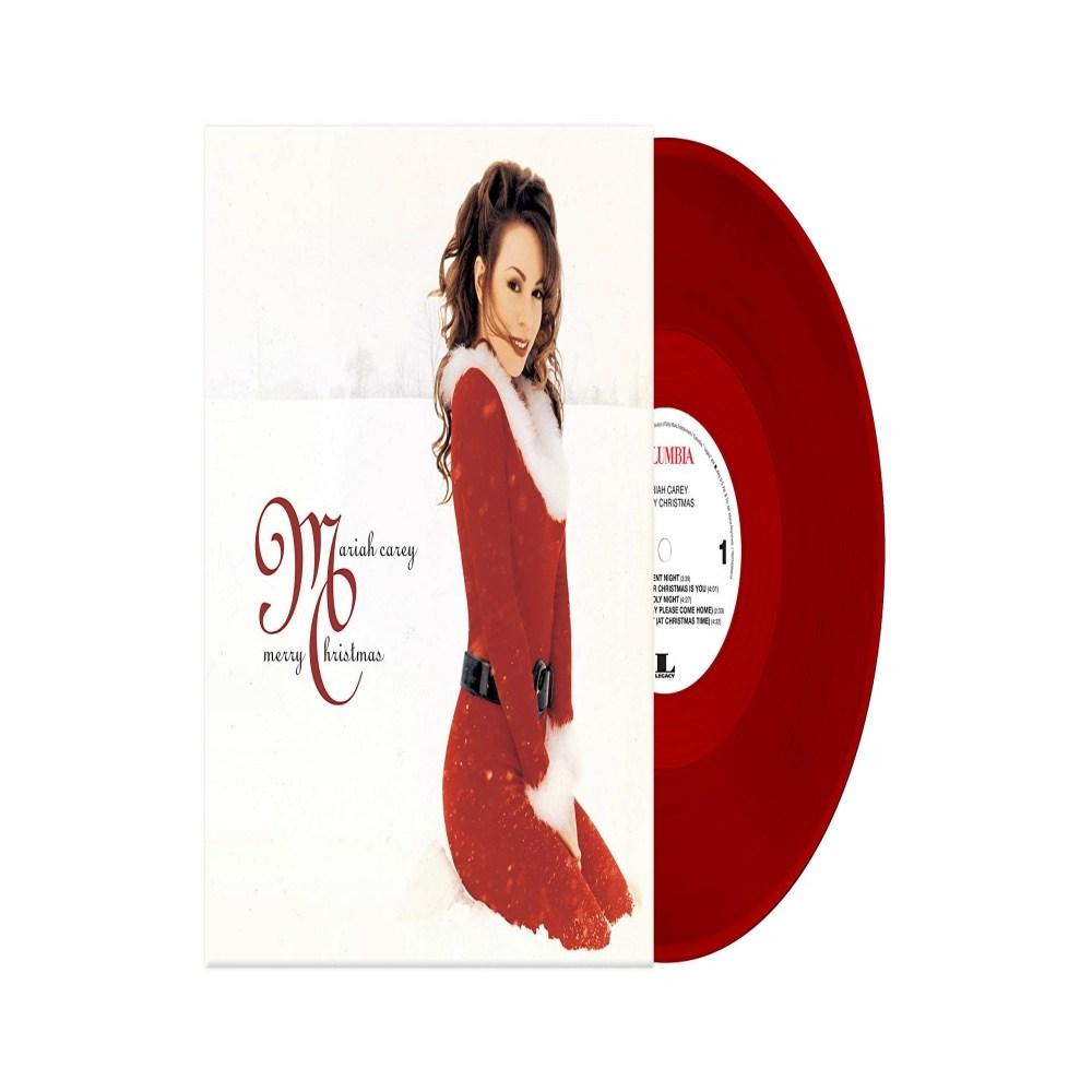Mariah Carey Merry Christmas 머라이어캐리 RED Vinyl LP