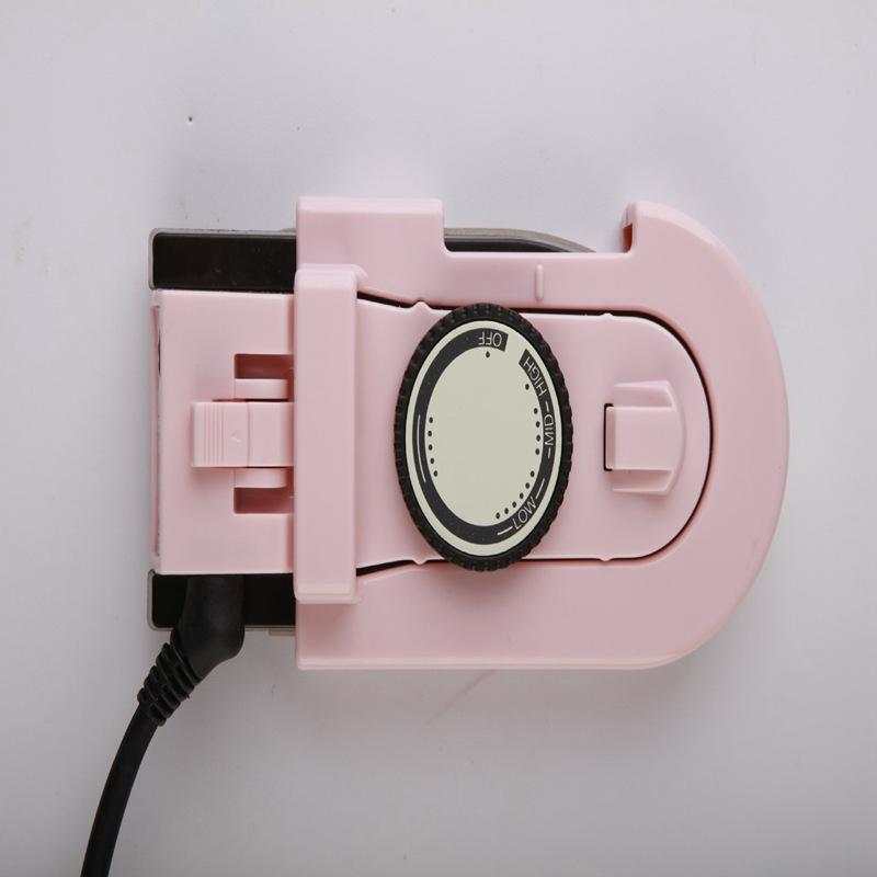 다리미 DULLBEAR전기충격 휴대용 핸드형 전기 가정용 소형 미니 접이식 여행 옷걸이~, #01-핑크 152*70*98mm