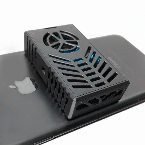 빅피플 스마트폰 스팀컨트롤러 냉각기 DE68, 1, 블랙