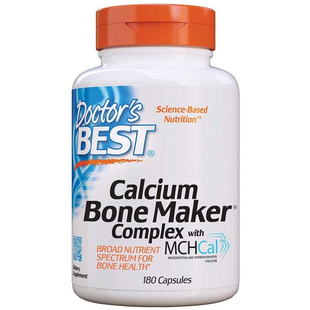Doctors Best Calcium Bone Maker Complex with MCHCal 닥터스베스트 칼슘 본 메이커 콤플렉스 180정, 1개, 1