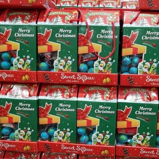 트롤리 (코스트코) 크리스마스 젤리선물세트 (한정판) 지구젤리포함, 1box, 790.9g
