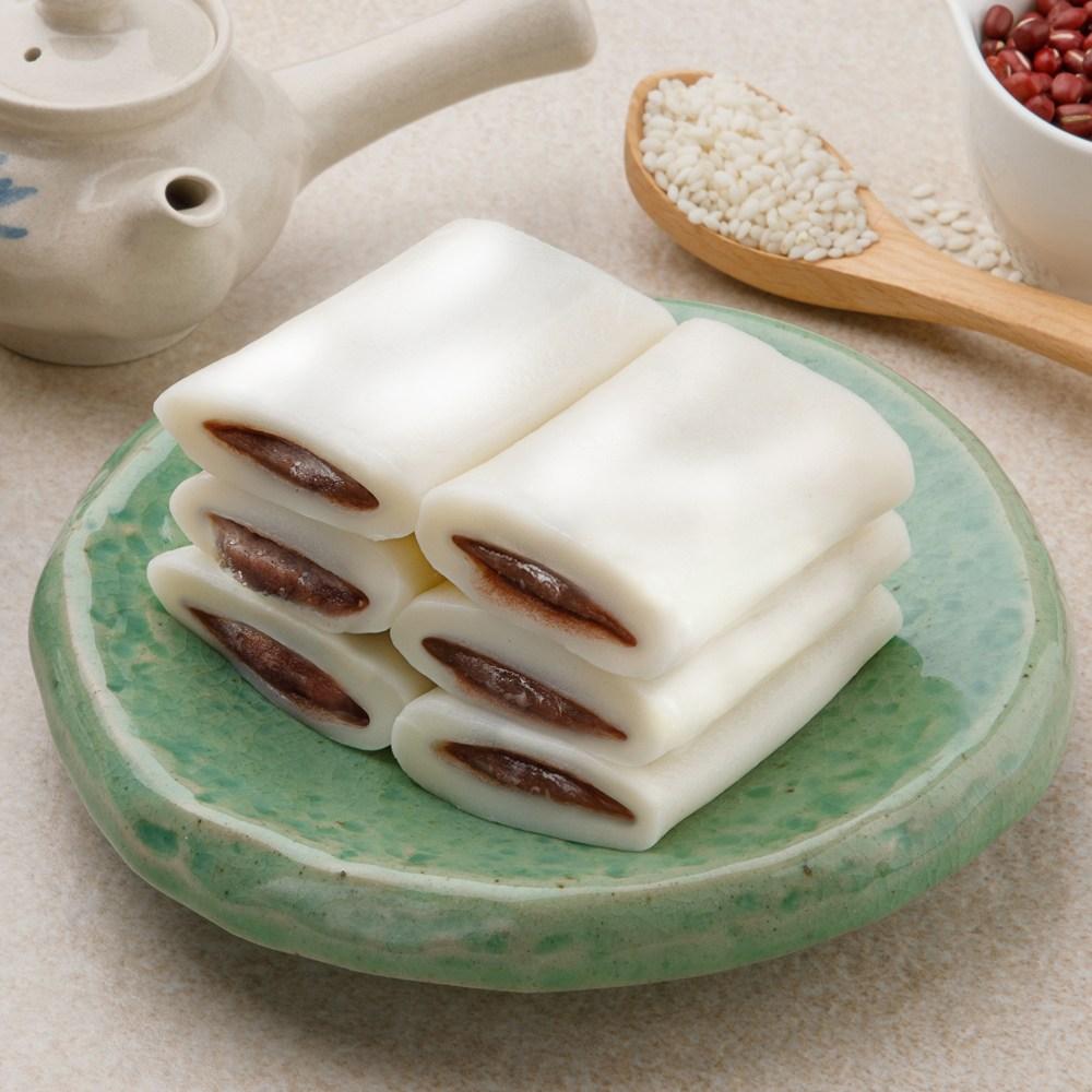 시루원 굳지않는 흰 앙꼬절편 100% 국내산 쌀 30개입, 70g, 30개