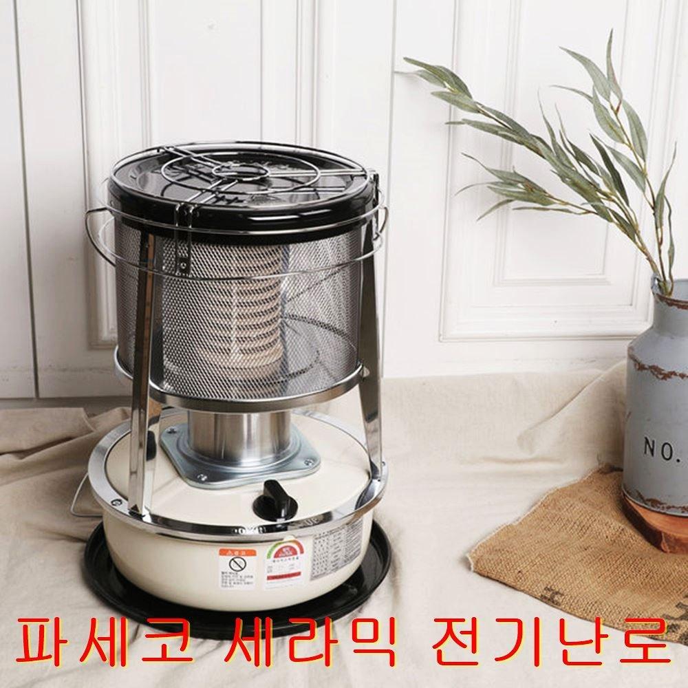 파세코 세라믹 전기 난로 히터 가정용 사무실 난방기 난방기구 PEH-2500, 화이트