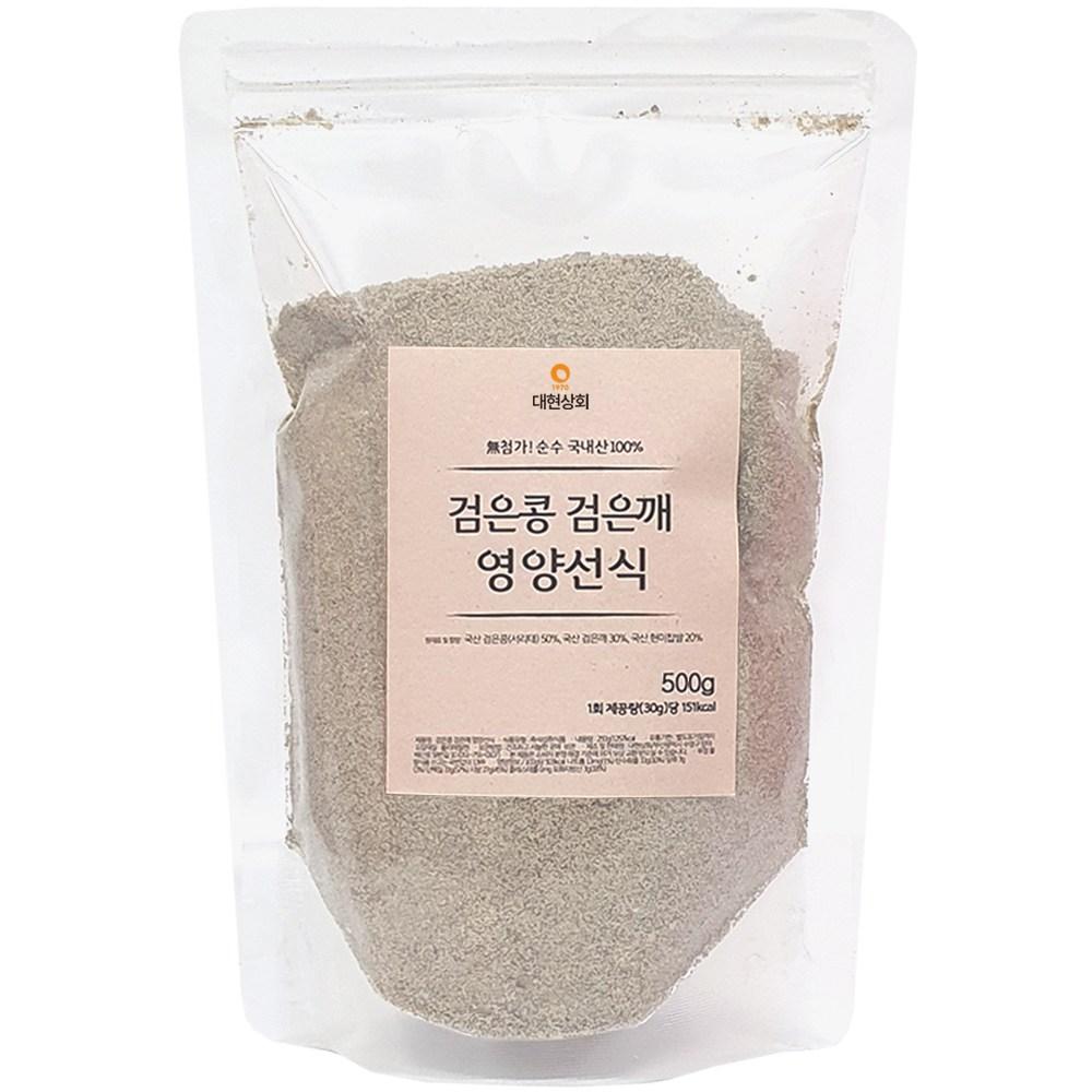 대현상회 국산 검은콩검은깨영양선식, 1개, 500g