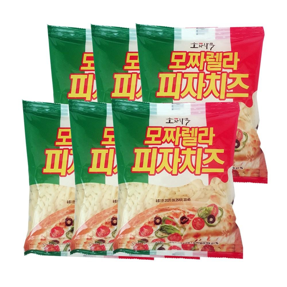동원 소와나무 모짜렐라 피자치즈180gX6봉, 6봉, 180g