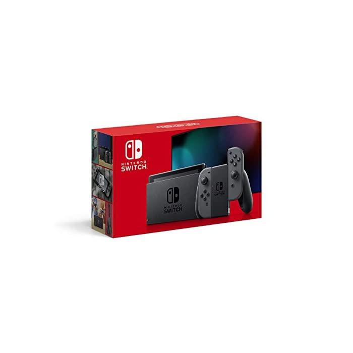 닌텐도 Nintendo Switch 본체 (닌텐도 스위치) Joy-Con (L) / (R) 그레이 (배터리 지속, 자세한 내용은 참조