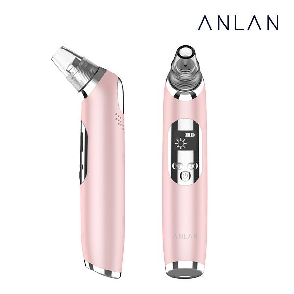 ANLAN 안란 블랙헤드제거기 피지흡입기 냉온 기능추가 업그레이드버전, 핑크, ALHTY07K-04