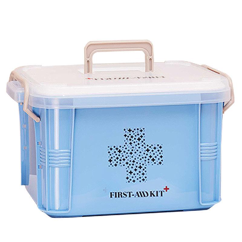 가정용 약상자 정리상자 다용도 구급함 구급상자 의약품함 도구 수납함 응급약품 풀세트 비상약, 1개 옵션4 (POP 5532700994)