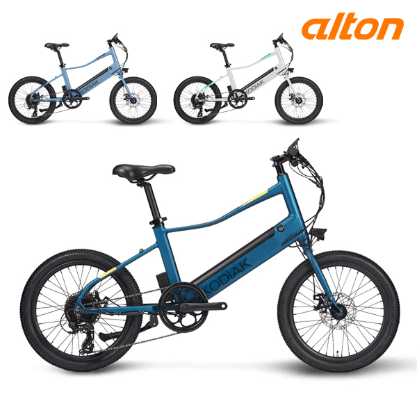 전기 자전거 2020 알톤 코디악 20MV 파스 스로틀 8단, 20 다크그레이 (파스+스로틀) (POP 1625628885)