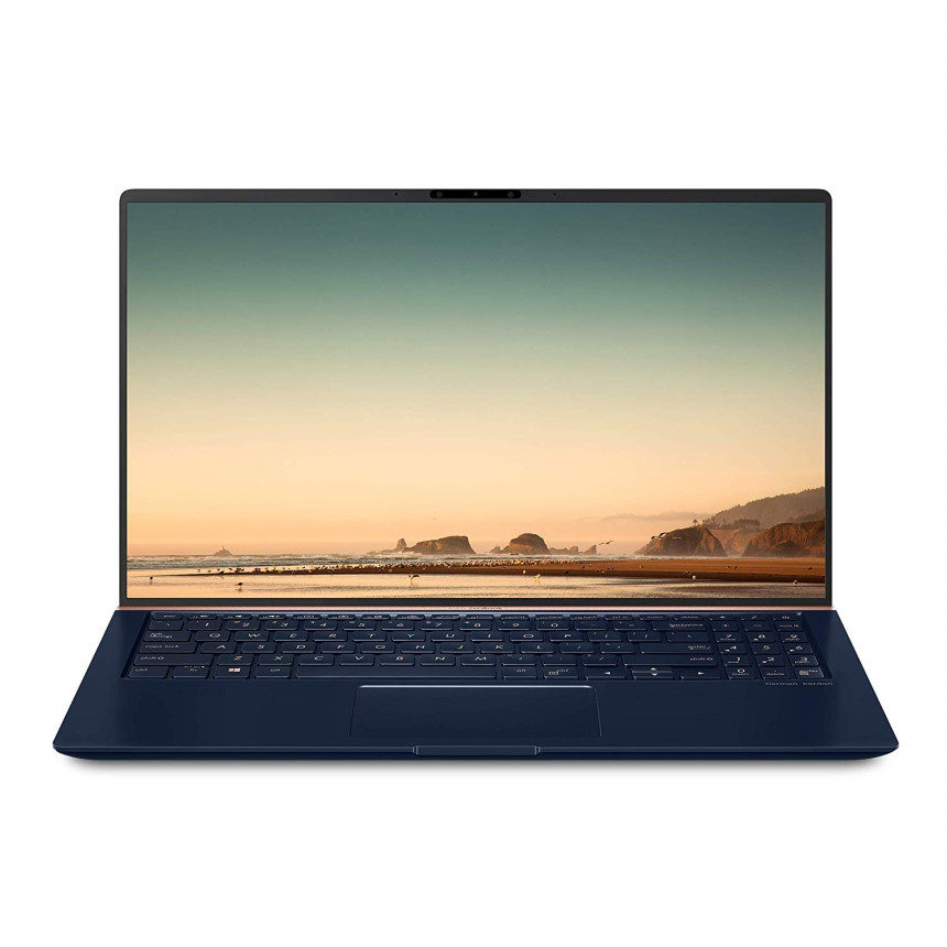 ASUS UX533FD-DH74 ZenBook 15 Ultra-Slim Compact Laptop 15.6 FHD 4-Way Narrow Bezel Intel Core i7-8565U Up to 4.1GHz 16GB DDR4 512GB PCIe SSD, 단일색상