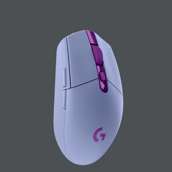 로지텍 G304 무선 게이밍 마우스 블루 정품 박스새상품, 퍼플