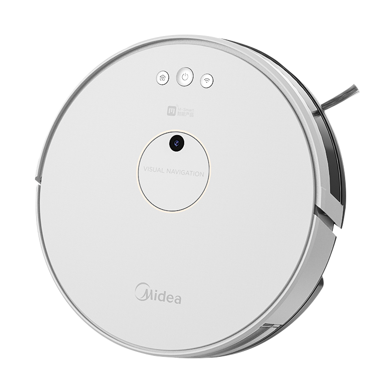 100801 Midea 청소 로봇 스마트 홈 청소 및 청소 통합 자동 진공 청소기 청소 및 청소 진공 3 in one Midea/美的, 폴라 화이트