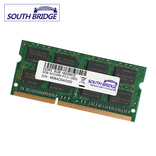 SOUTH BRIDGE 노트북 램8기가 DDR3 PC3-10600 & 12800&저전력12800 새상품 노트북용, 노트북 8기가램 DDR3 PC3-12800 새상품