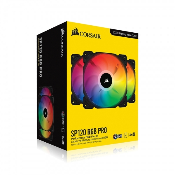 커세어 iCUE SP140 RGB PRO 저소음 140mm 쿨링팬 케이스 튜닝 쿨러 2팩Kit, 단일상품