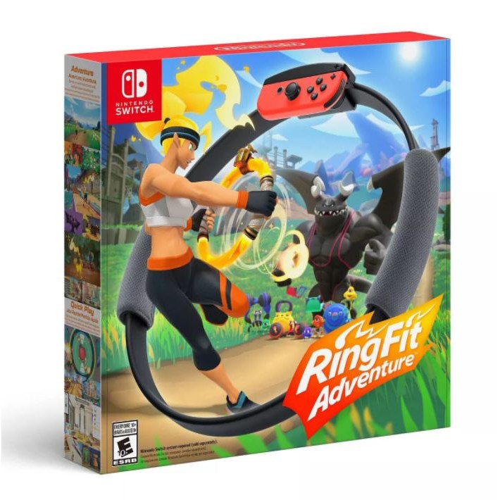 닌텐도스위치 링피트 링핏 어드벤처 / Nintendo Switch Ring Fit Adventure Black